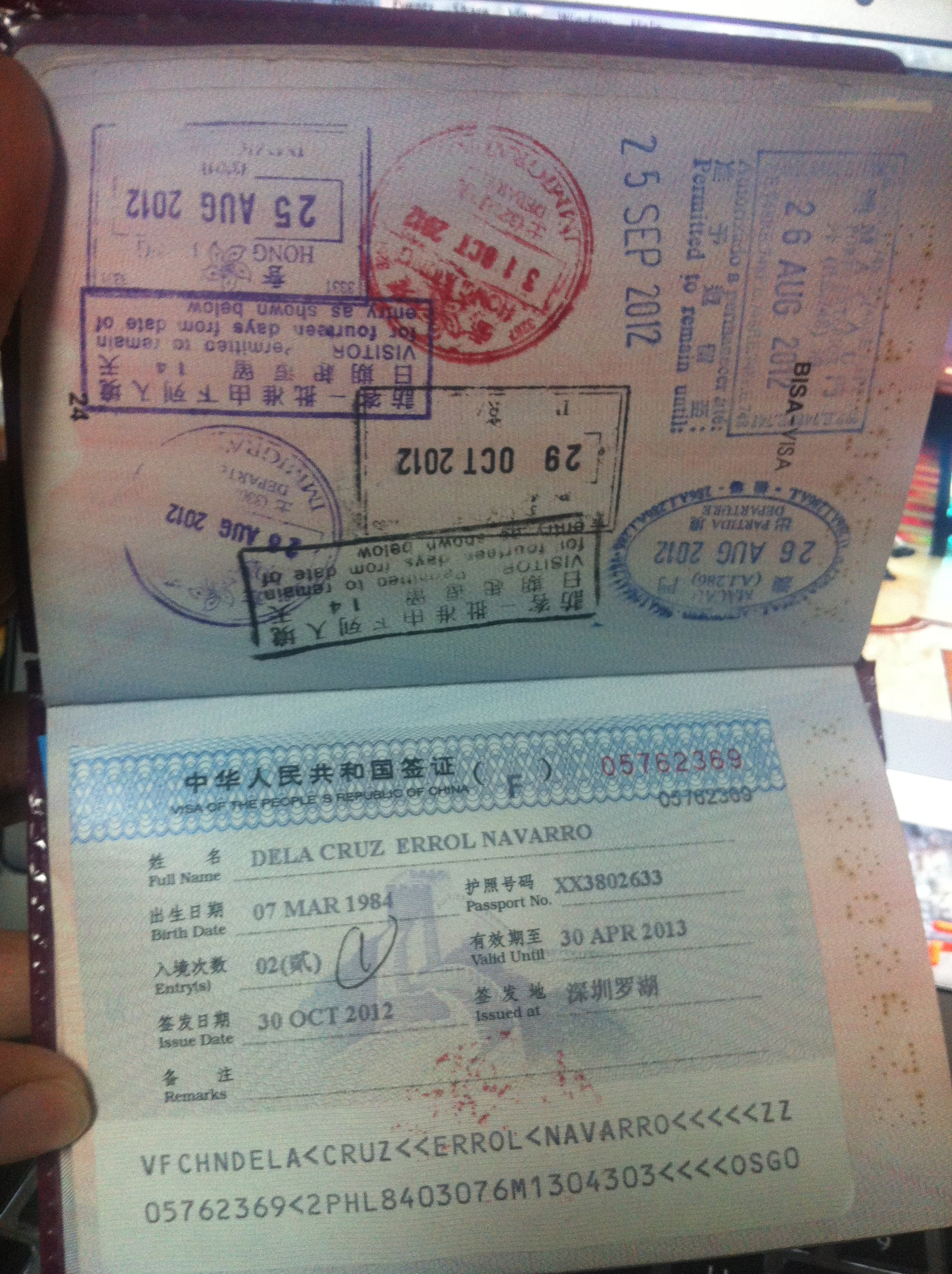 china visa application form brisbane