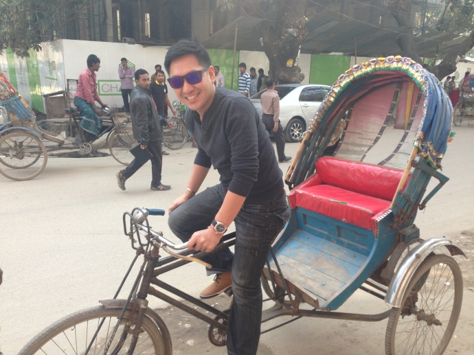 i think i can be a successful rickshaw driver if i'll pursue this career :)